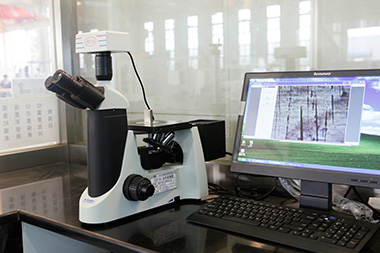 Advanced metallographic microscope is mainly used to detect the internal and appearance quality of the product.