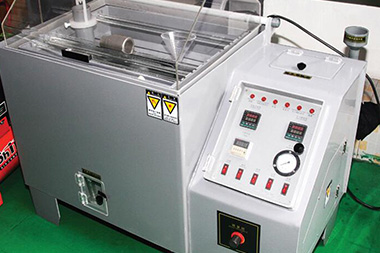 Salt spray testing machine mainly tests the ability of salt spray corrosion resistance of products